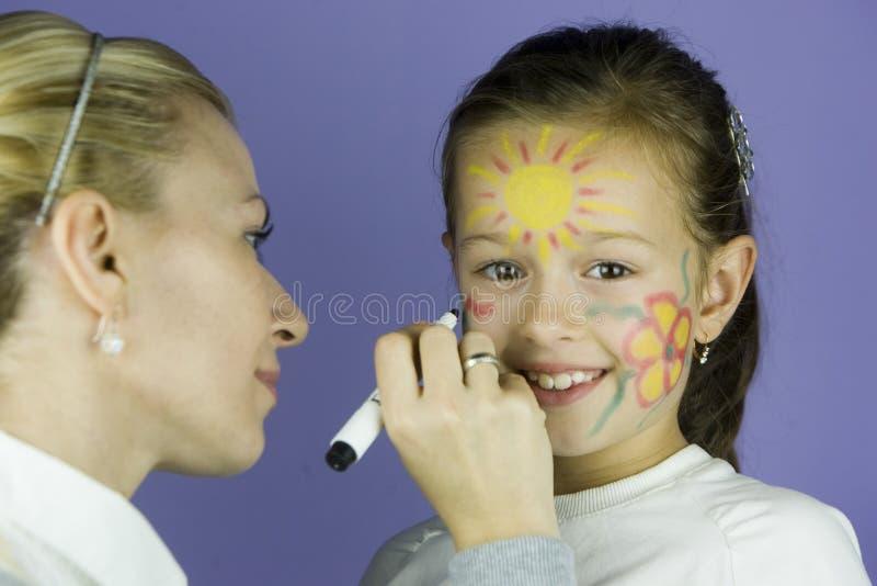 Картина стороны детей стоковые изображения rf