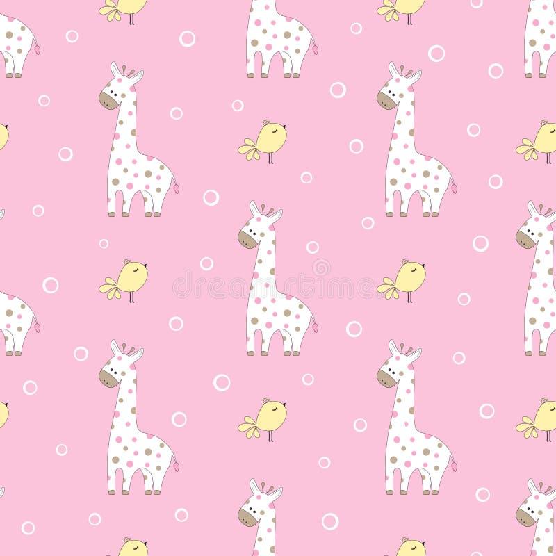 Картина с жирафами бесплатная иллюстрация