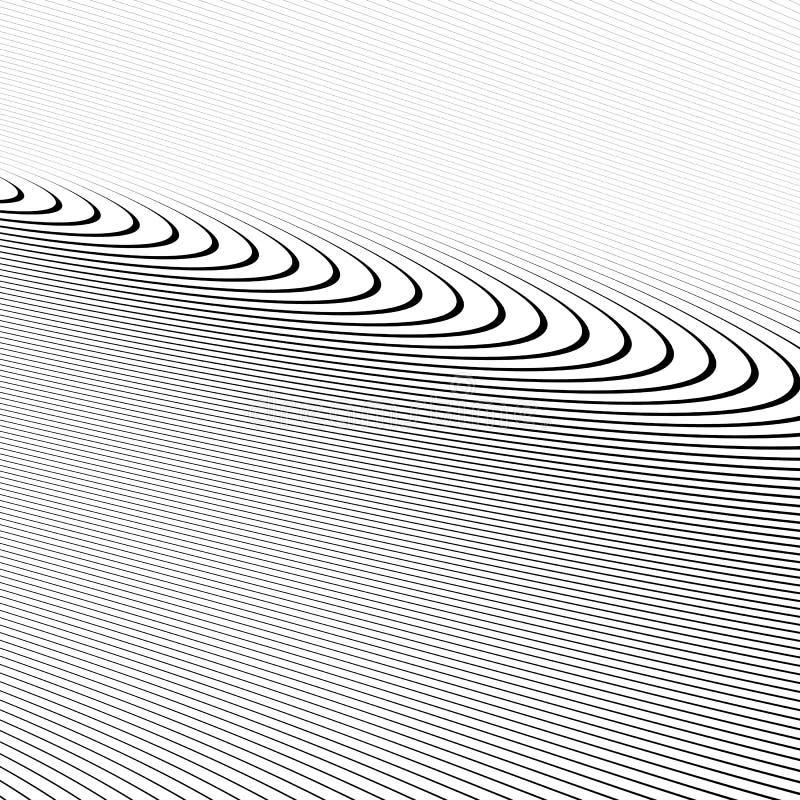 Download Картина с динамическим, линии сложной формы круга Геометрический циркуляр Иллюстрация вектора - иллюстрации насчитывающей круг, свободно: 81813606