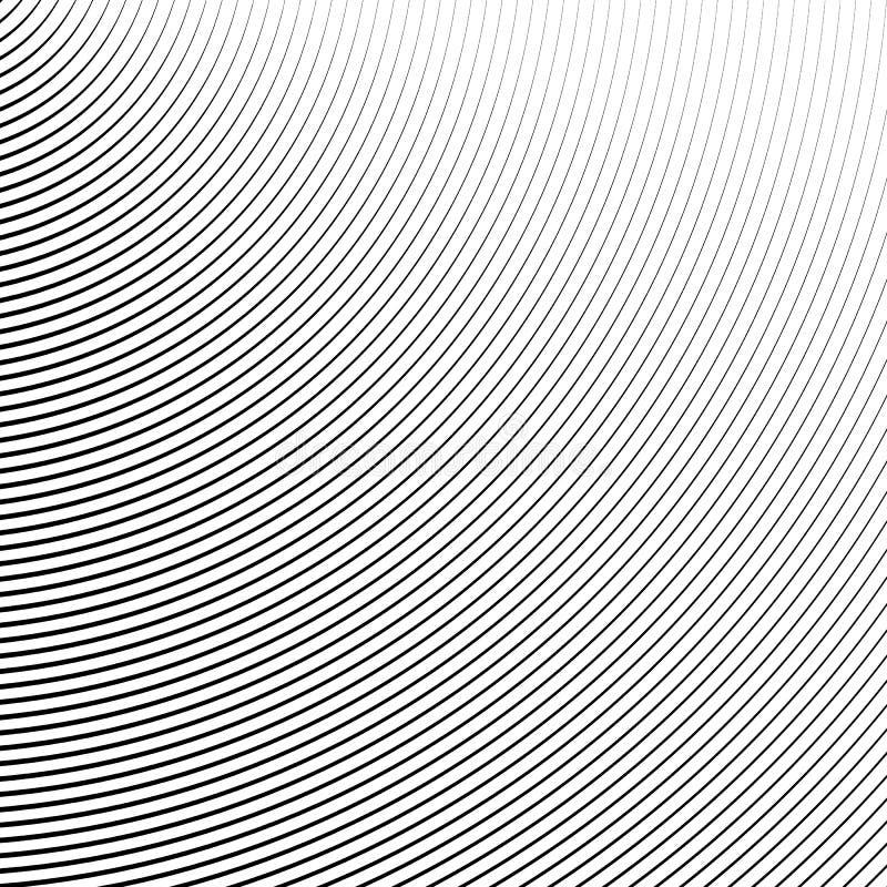 Download Картина с динамическим, линии сложной формы круга Геометрический циркуляр Иллюстрация вектора - иллюстрации насчитывающей monochrome, радиально: 81814280