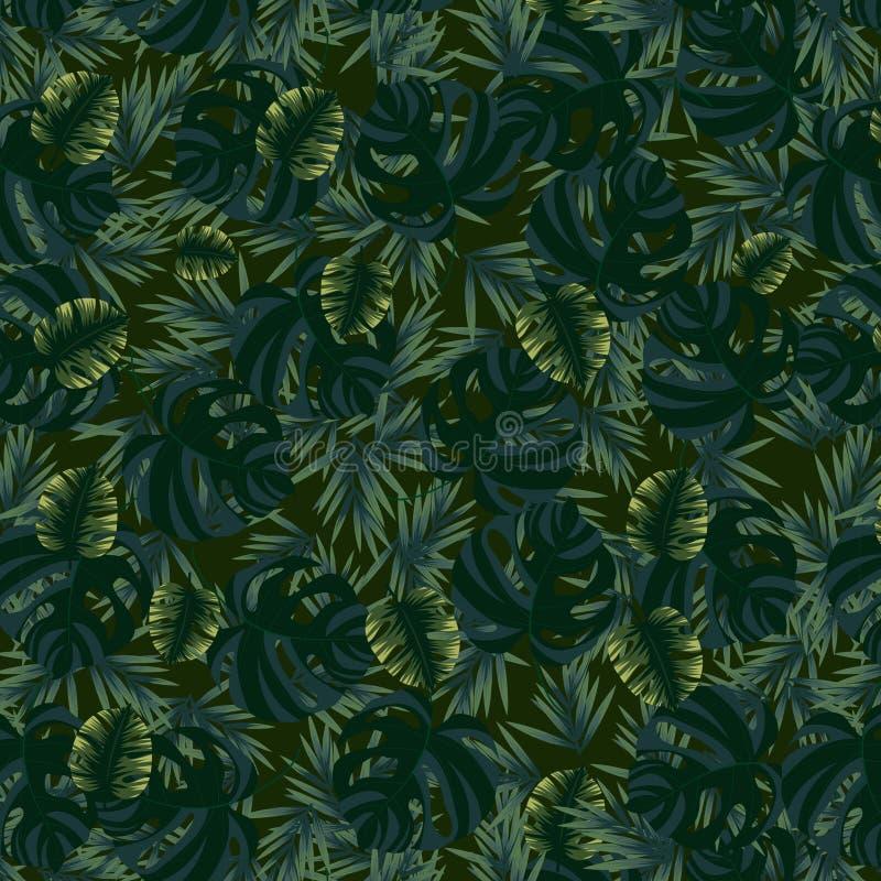 Картина с листьями различных форм бесплатная иллюстрация