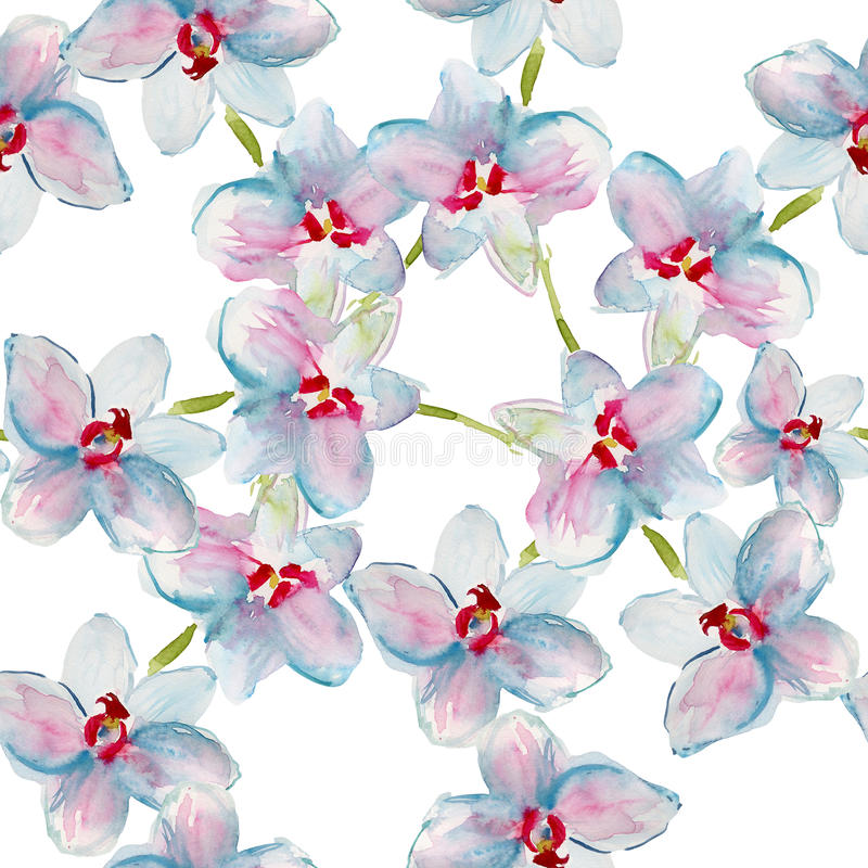 Картина с орхидеями