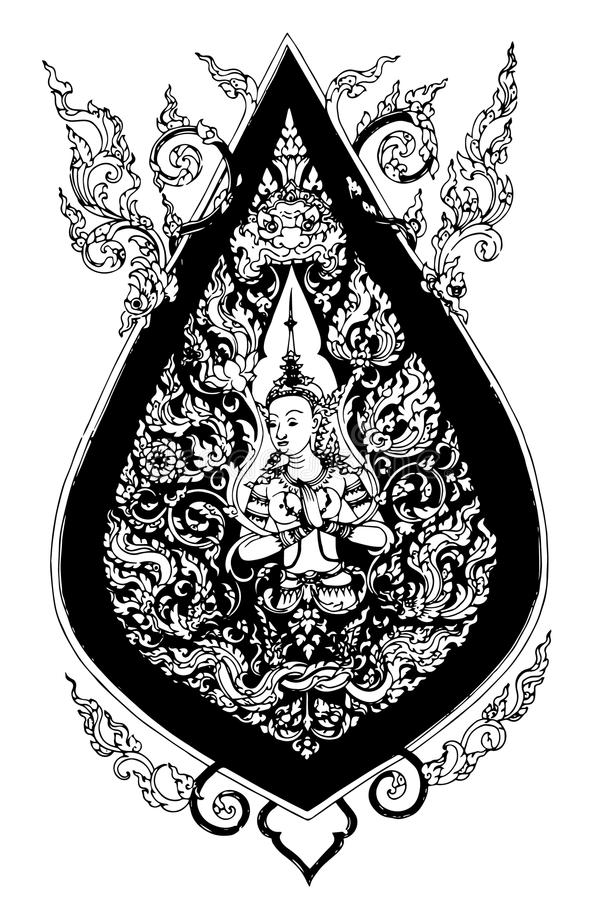 Картина Таиланд стоковое изображение rf