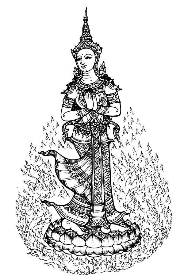 Картина Таиланд стоковое фото