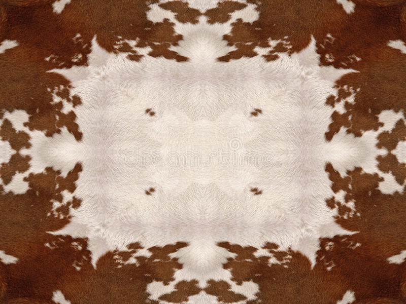 Картина тайника коровы калейдоскопа стоковые изображения rf