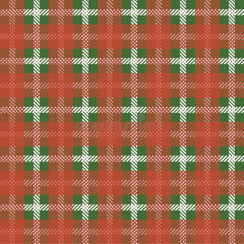 Картина тартана скатерти шотландки безшовная иллюстрация штока