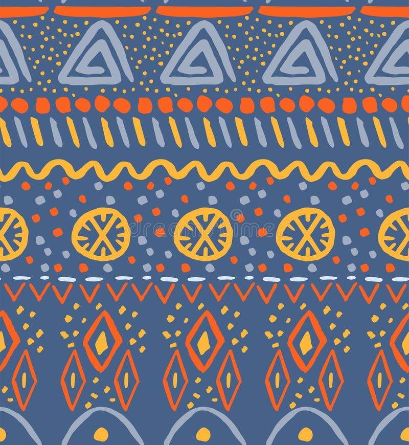 Картина творческих и colorfu племенная иллюстрация штока