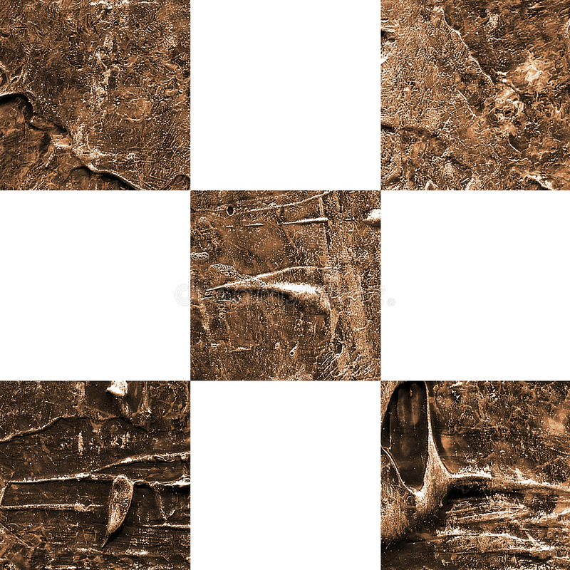 Картина текстурированная Grunge абстрактная checkered безшовная стоковые фото