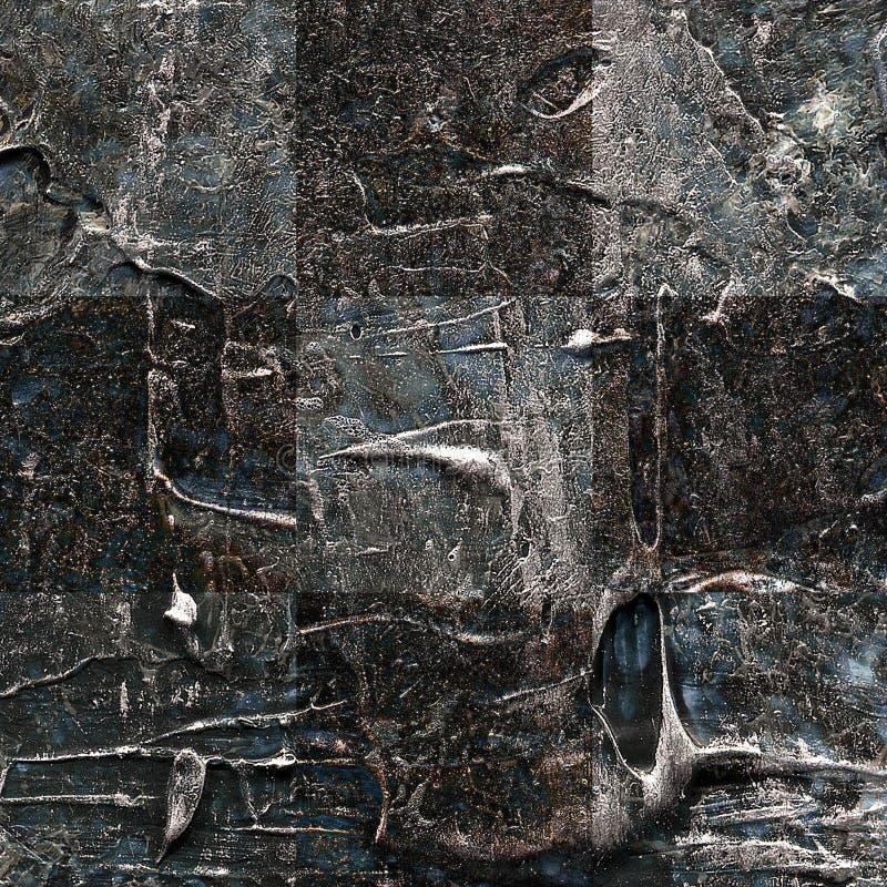 Картина текстурированная Grunge абстрактная checkered безшовная стоковые изображения