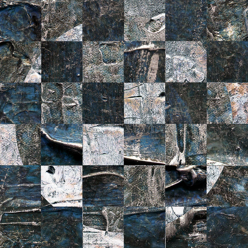 Картина текстурированная Grunge абстрактная checkered безшовная стоковое фото