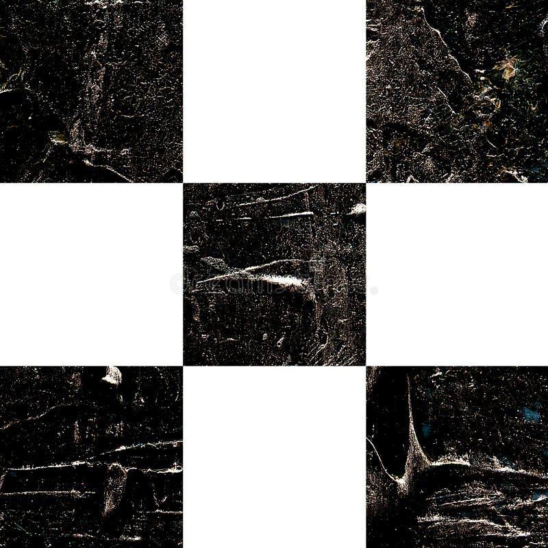 Картина текстурированная Grunge абстрактная checkered стоковая фотография