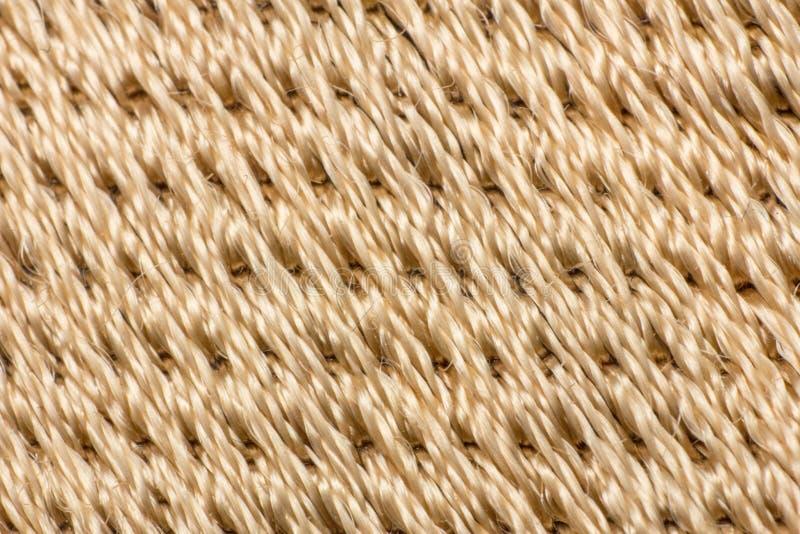 Картина текстуры волокна золота, макрос волокна стоковые фото