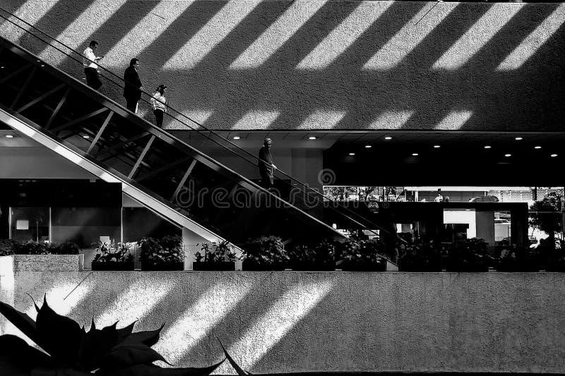 Картина теней и света стоковые фотографии rf