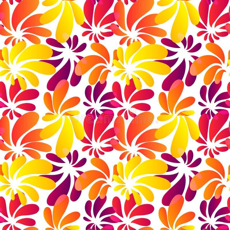 Картина типа Гавайи яркая безшовная бесплатная иллюстрация