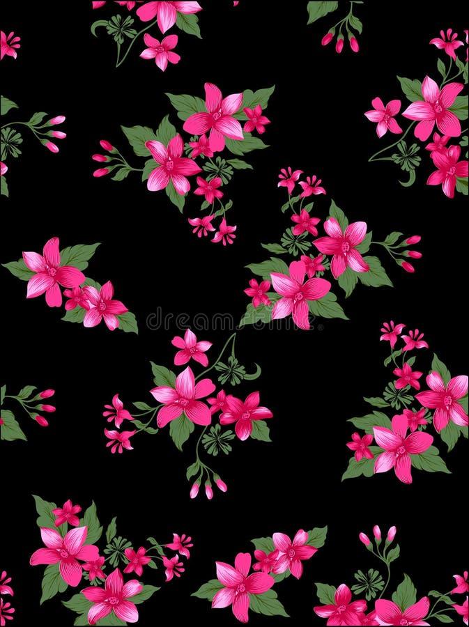 Картина ткани цветка иллюстрация штока