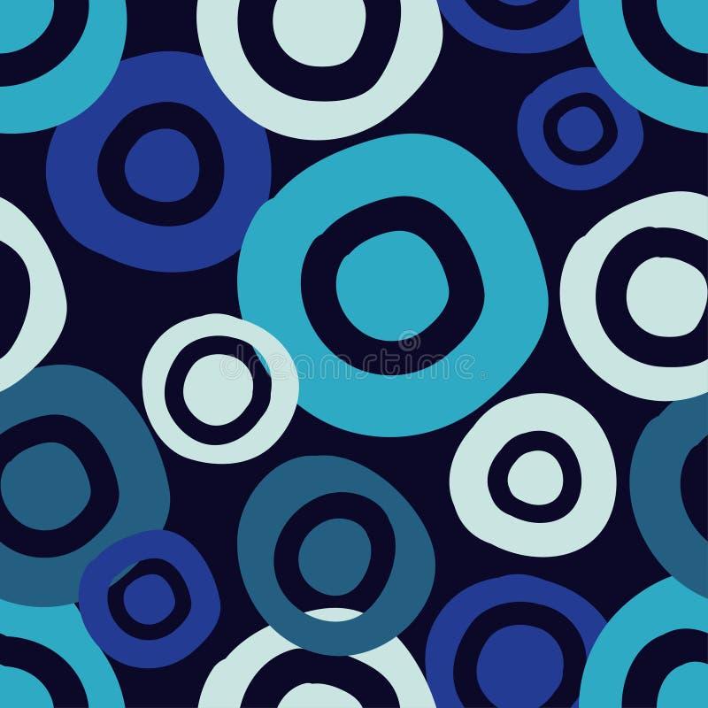Картина точки польки безшовная предпосылка геометрическая brunelleschi Точки, круги и кнопки иллюстрация штока