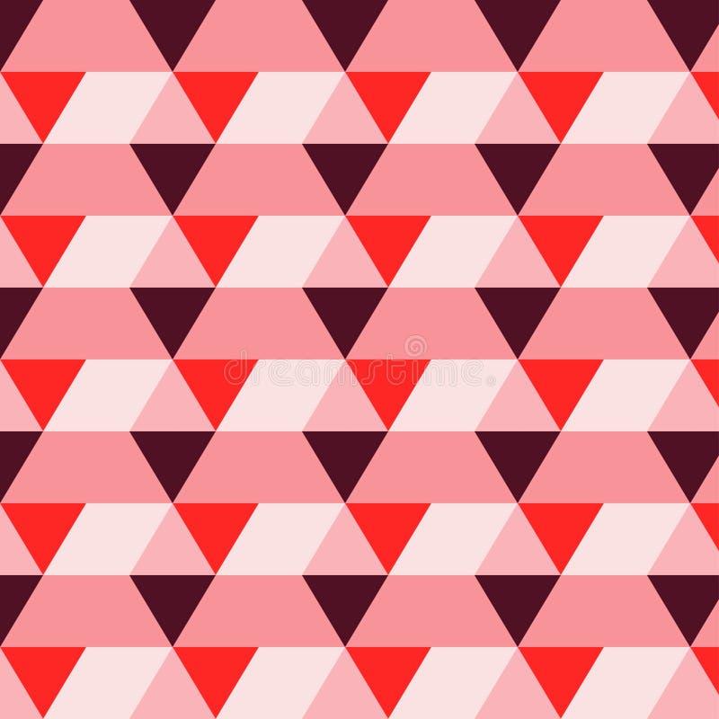 Картина треугольника прямоугольника подняла иллюстрация вектора