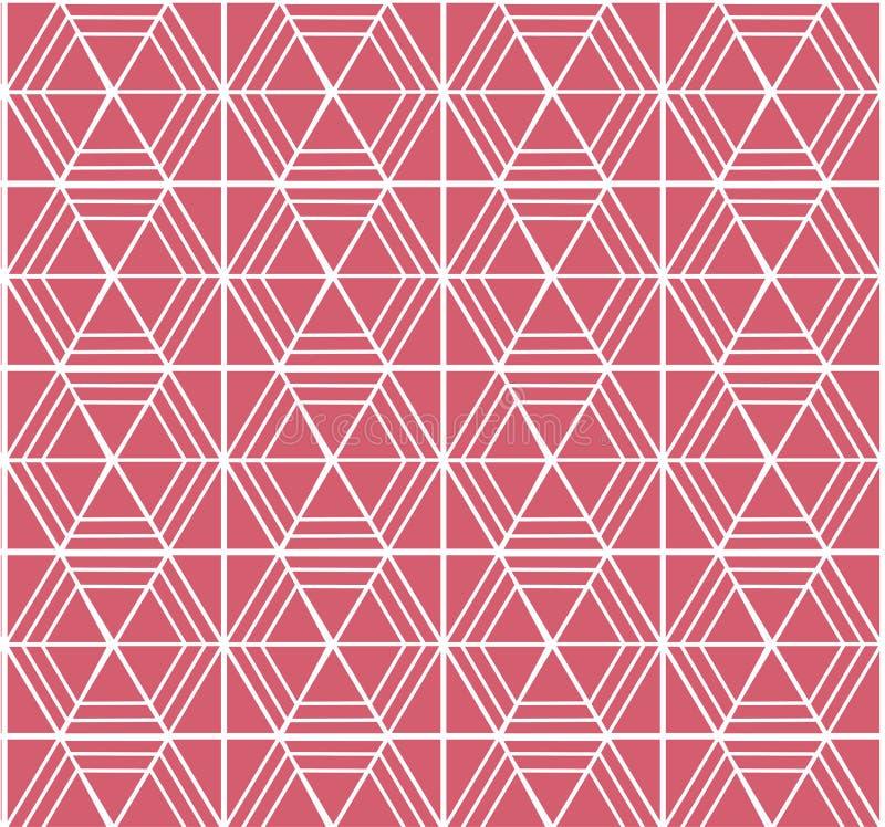 Картина треугольника прямоугольника иллюстрация вектора