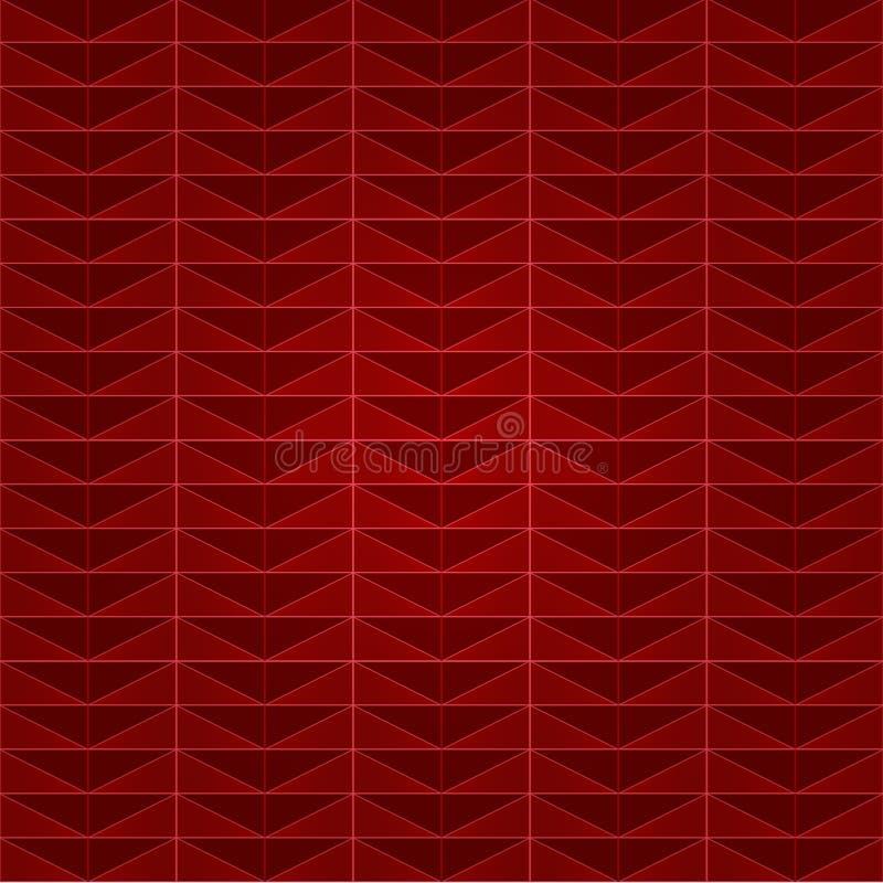 Картина треугольника плитки прямоугольника иллюстрация вектора
