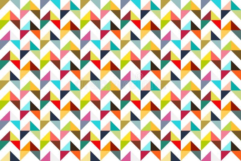 Картина треугольника Seamles красочная бесплатная иллюстрация