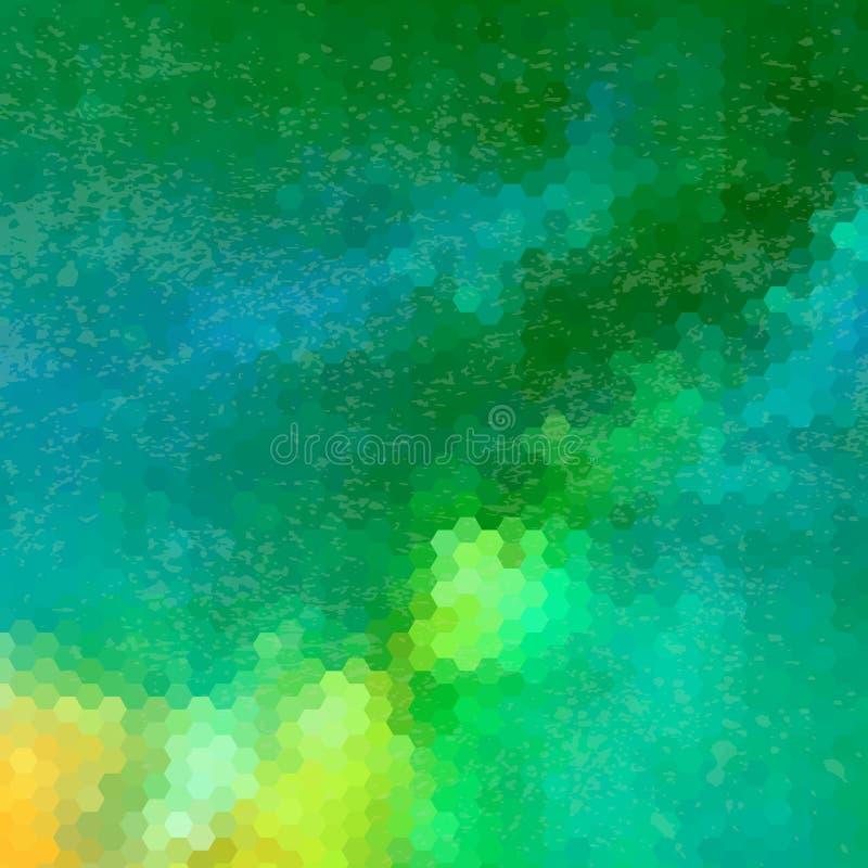 Картина треугольников геометрических форм цветасто стоковые фото