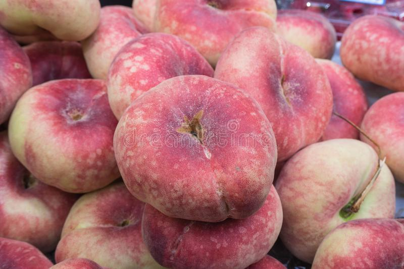 Картина французских персиков стоковая фотография rf