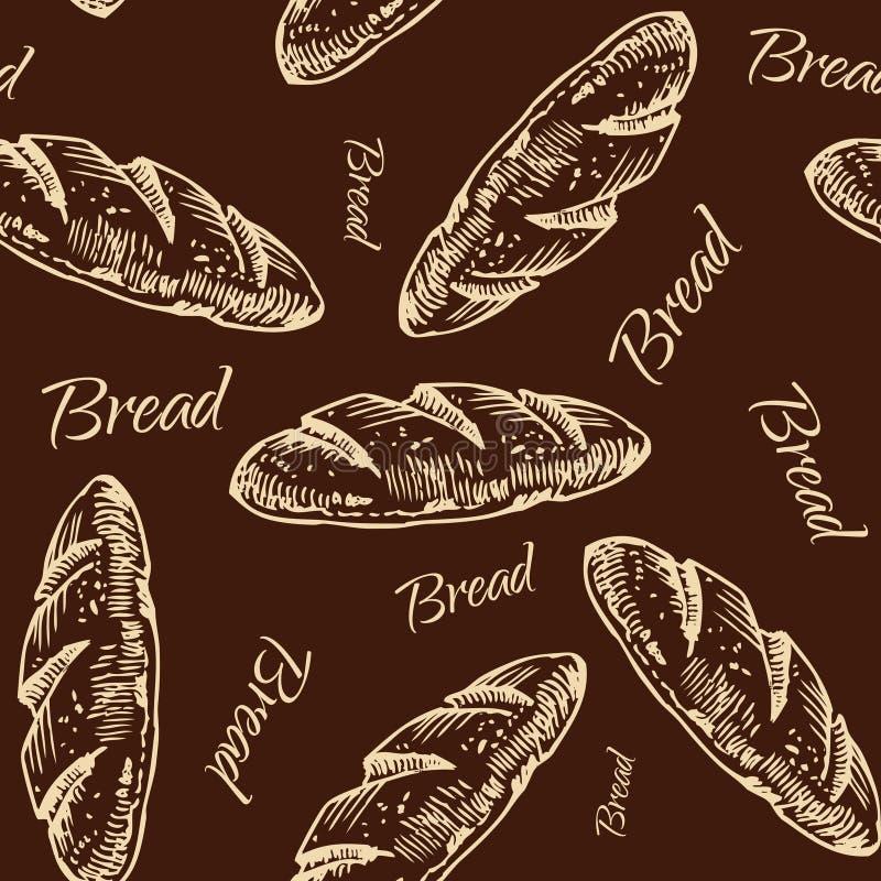 Картина хлеба бесплатная иллюстрация
