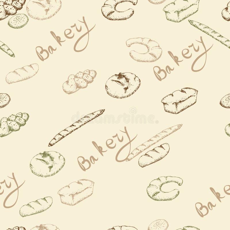 Download Картина хлебопекарни безшовная Иллюстрация вектора - иллюстрации насчитывающей утро, baikal: 41657730