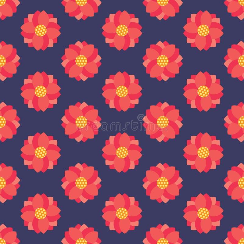 картина цветка безшовная стоковое фото rf