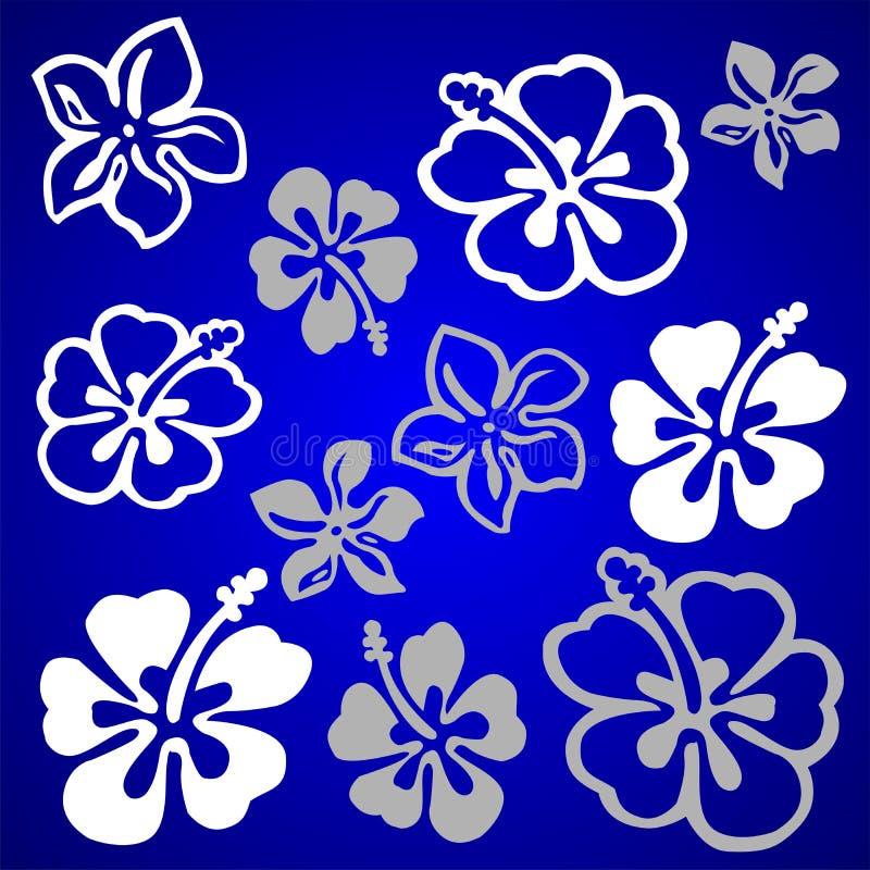 картина цветка векториальная иллюстрация штока