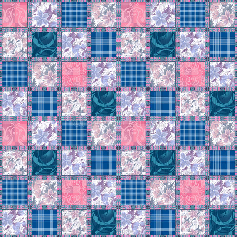 Download Картина цветков безшовного шнурка заплатки ретро Иллюстрация штока - иллюстрации насчитывающей иллюстрация, бобра: 40582265