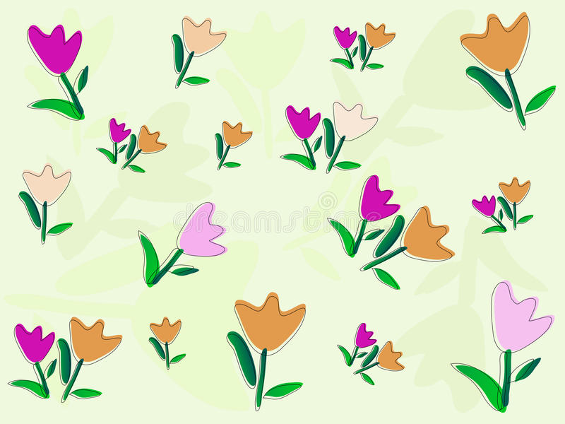 картина цветков бесплатная иллюстрация