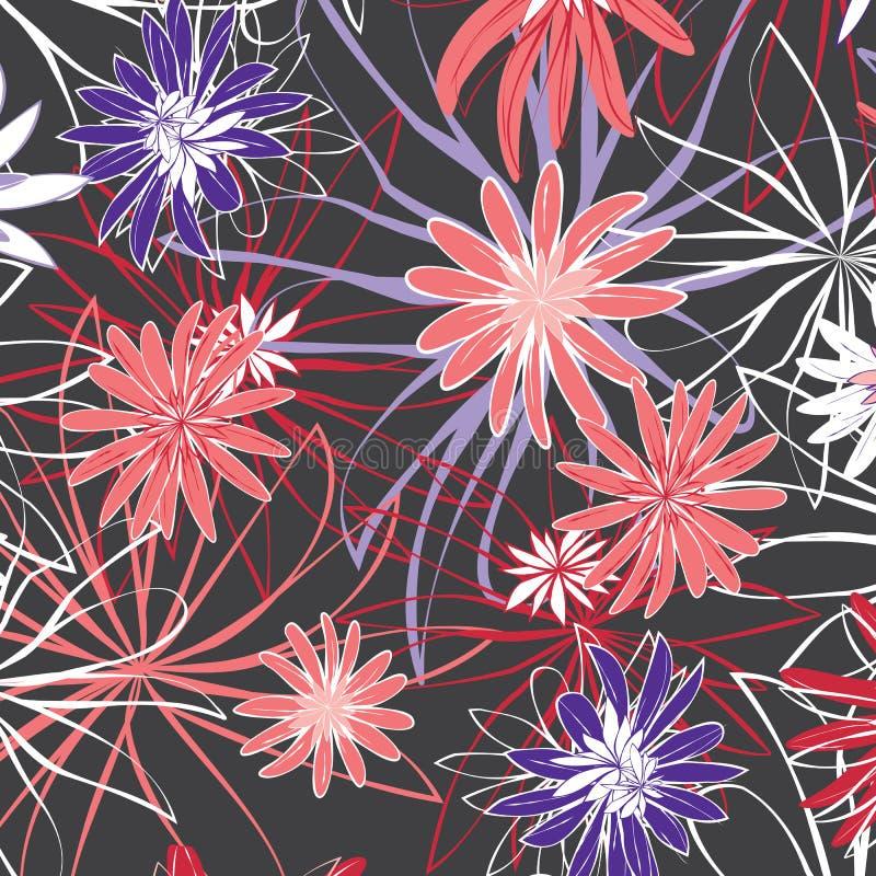 Картина цветков стоковое фото rf