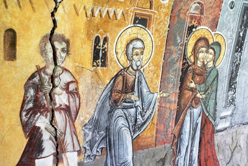 картина церков старая стоковые фото