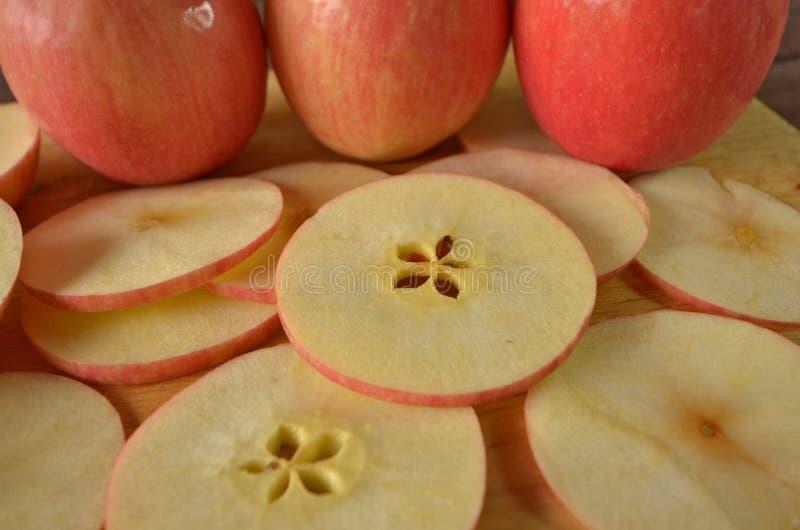 Картина частей текстуры яблока стоковое фото rf