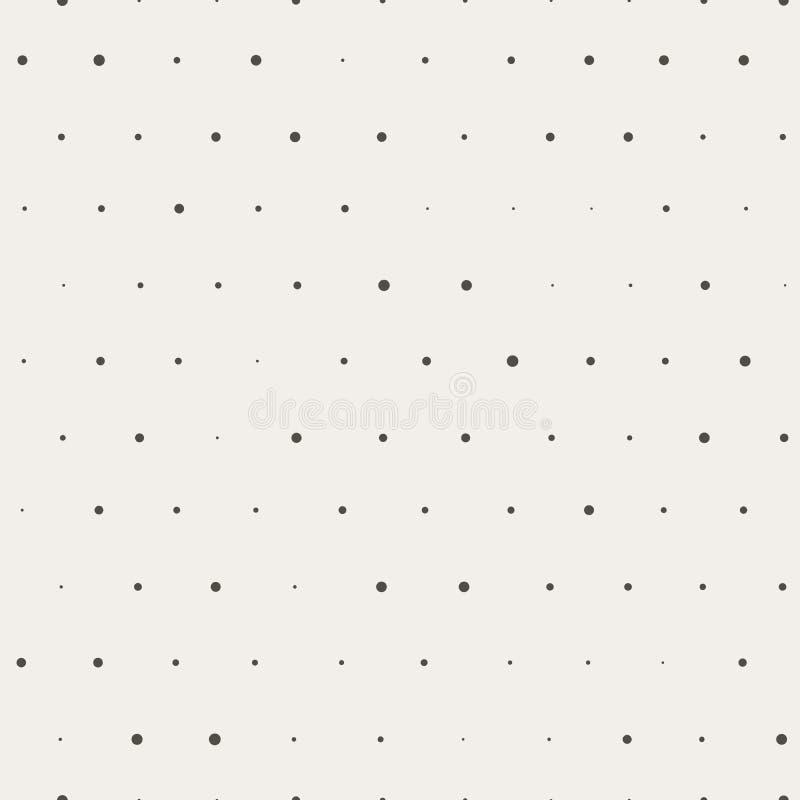 Картина черного круга безшовная на коричневой предпосылке Ткань или упаковочная бумага иллюстрация штока