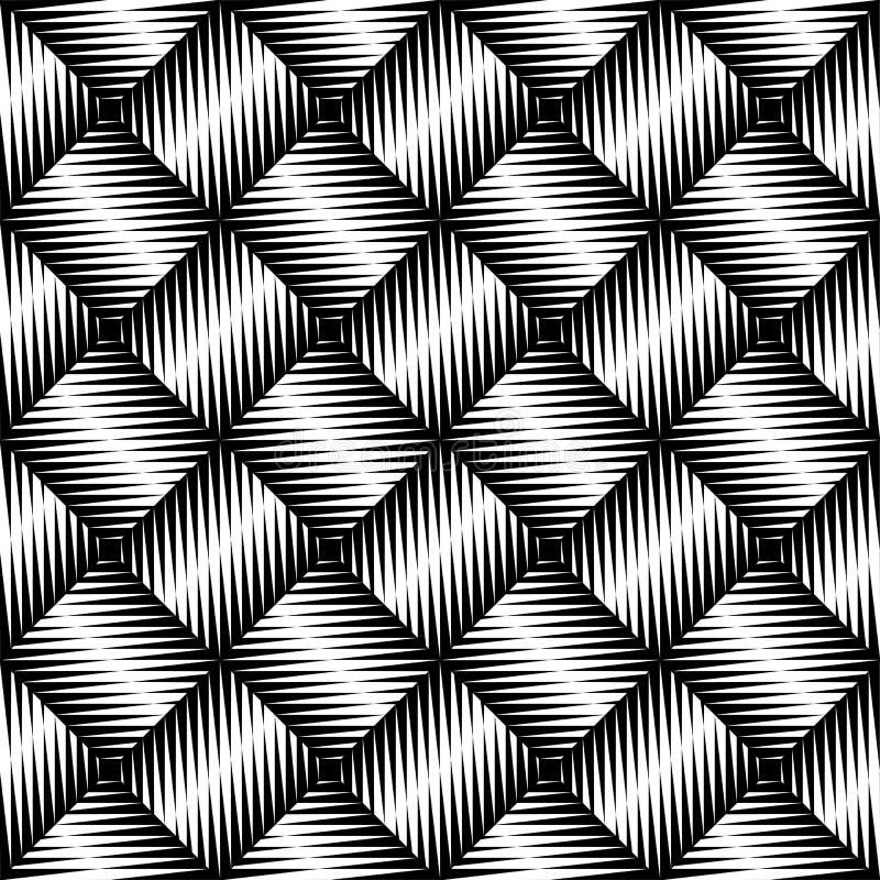 Картина черно-белого неровного края безшовная иллюстрация штока