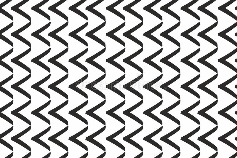 Картина черных стрелок горизонтальная monochrome концепция обоев иллюстрация вектора