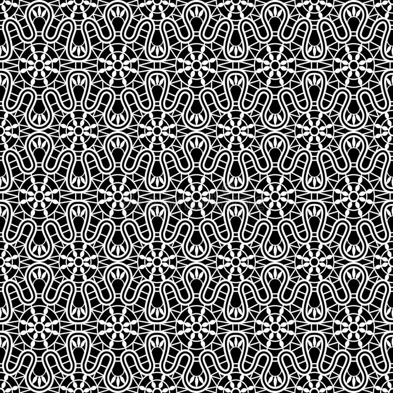 Картина шнурка безшовная иллюстрация штока