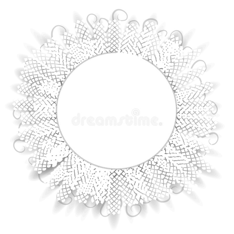 картина шнурка круга декоративная иллюстрация штока