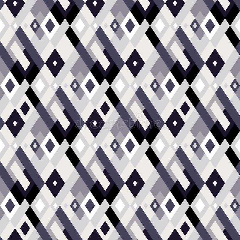 Картина шотландки вектора геометрическая безшовная с квадратами, проверками бесплатная иллюстрация