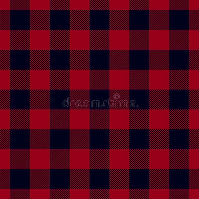 Картина шотландки Lumberjack бесплатная иллюстрация