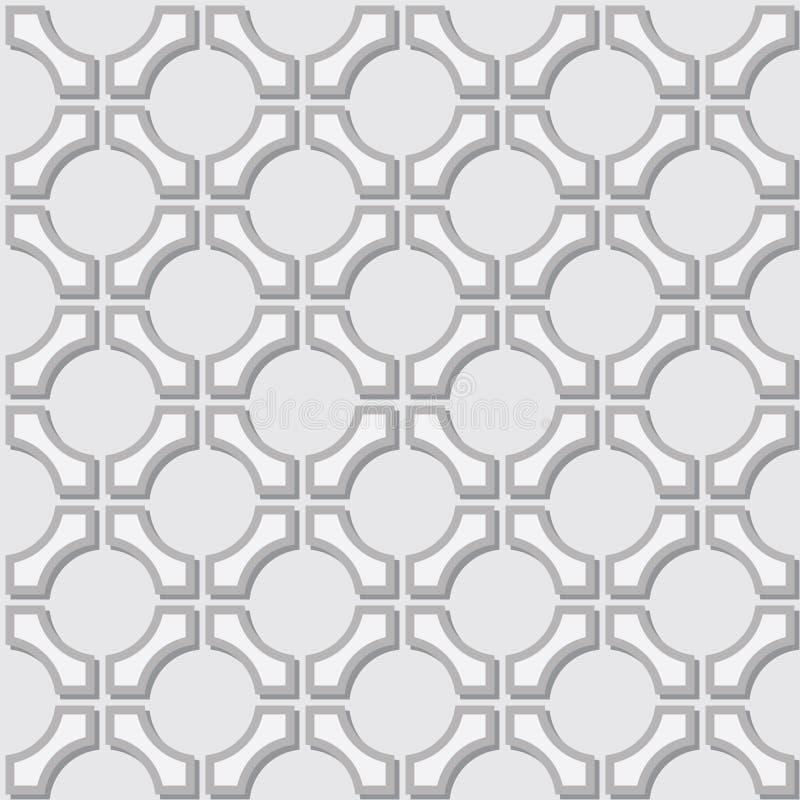 картина элементов геометрическая серая просто иллюстрация вектора