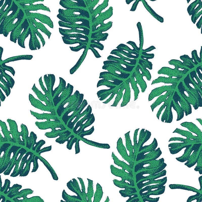 Картина эскиза пальмы иллюстрация штока