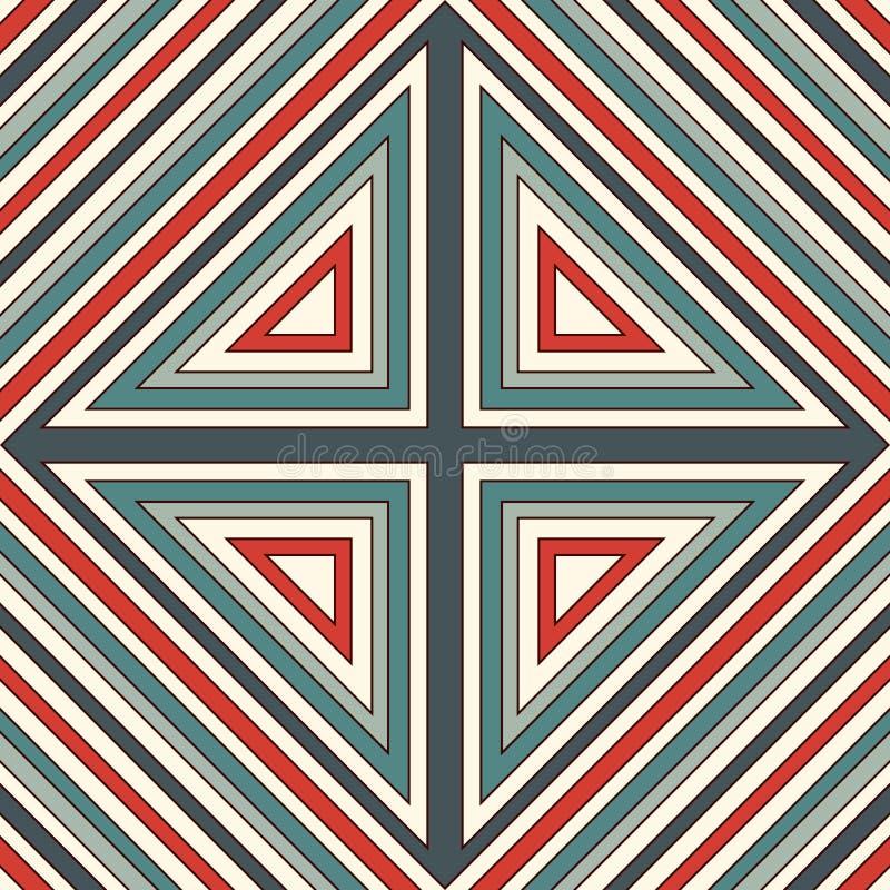 Картина этнического стиля безшовная Предпосылка коренных американцев абстрактная Племенной мотив Бумага Boho шикарная цифровая иллюстрация вектора