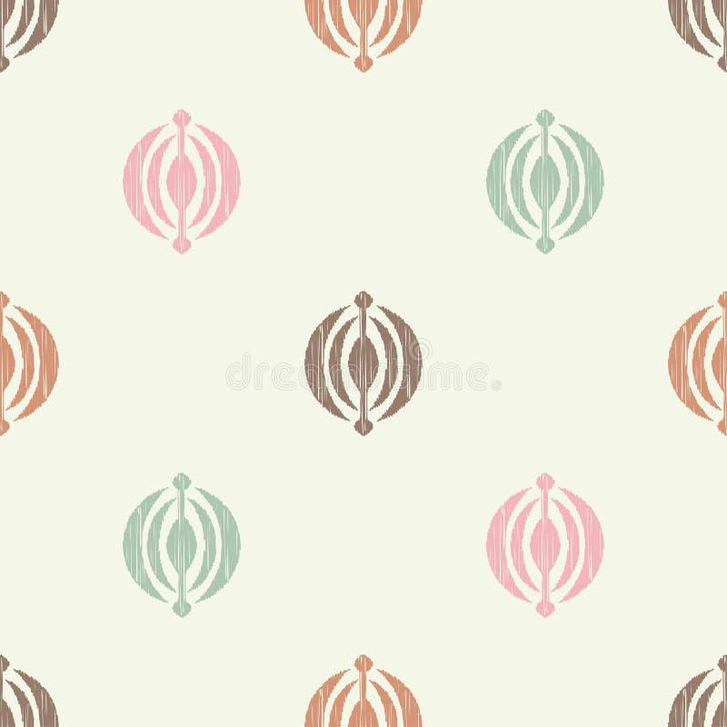Картина этнического boho безшовная Вышивка орнамент традиционный предпосылка геометрическая картина соплеменная Фольклорный мотив иллюстрация штока