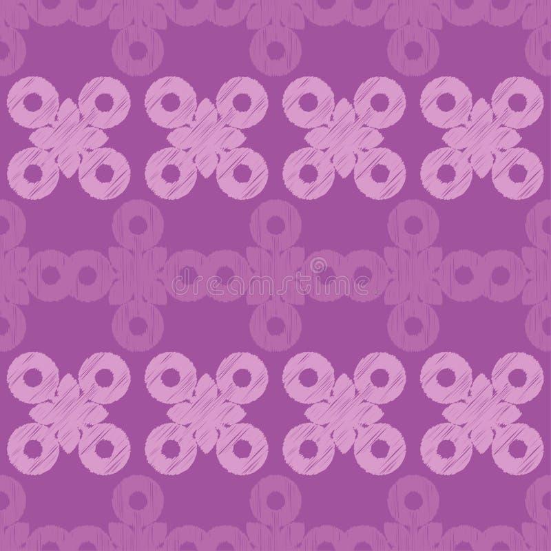 Картина этнического boho безшовная Вышивка орнамент традиционный предпосылка геометрическая картина соплеменная Фольклорный мотив бесплатная иллюстрация