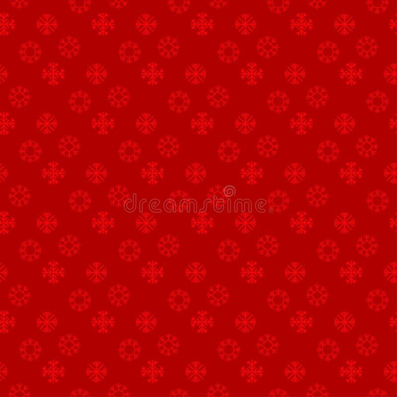Картина Chrismtas снега шелушится красная предпосылка бесплатная иллюстрация