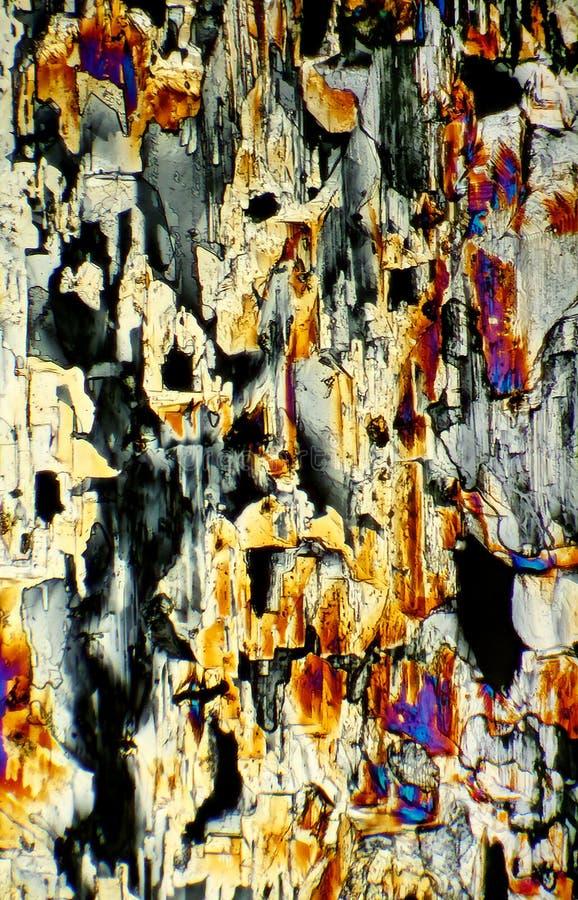 Картина Crystallic стоковые изображения