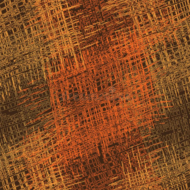 Картина Grunge striped и checkered грубая красочная безшовная иллюстрация штока
